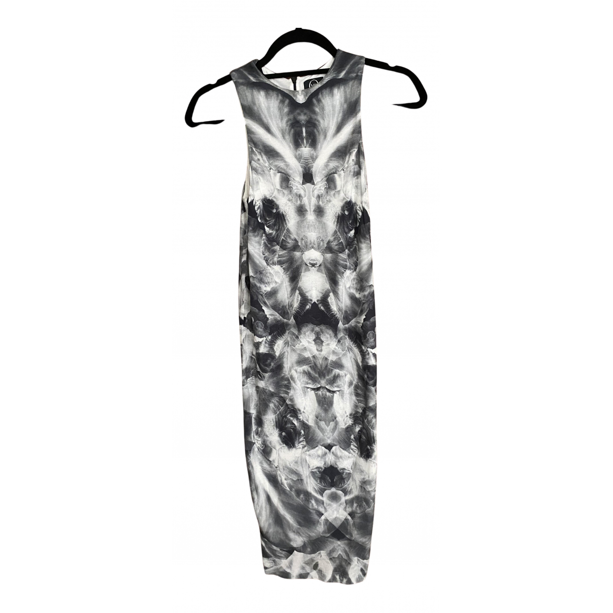 Mcq N Multicolour Cotton dress for Women XS International