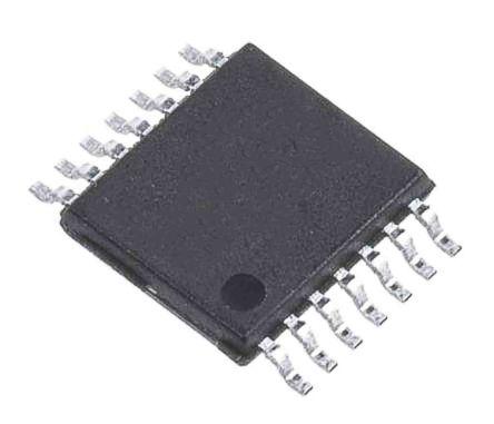 STMicroelectronics LMV324IYPT , Low Power, Op Amp, RRIO, 1.3MHz 100 kHz, 2.7 → 6 V, 14-Pin TSSOP (2500)