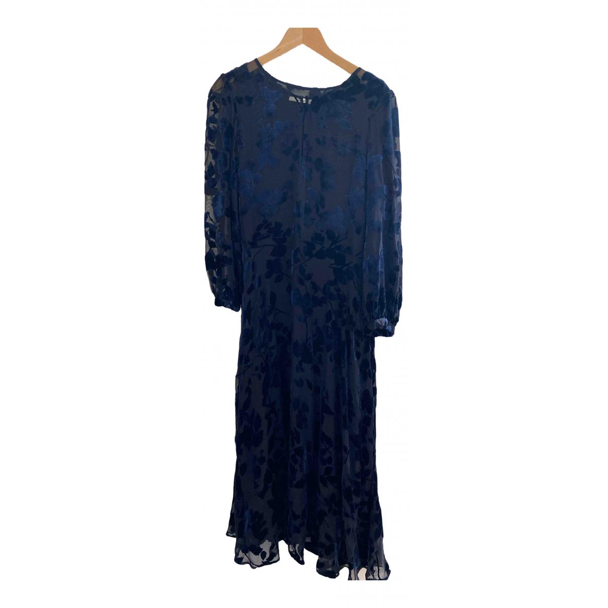 Uterque \N Kleid in  Blau Seide