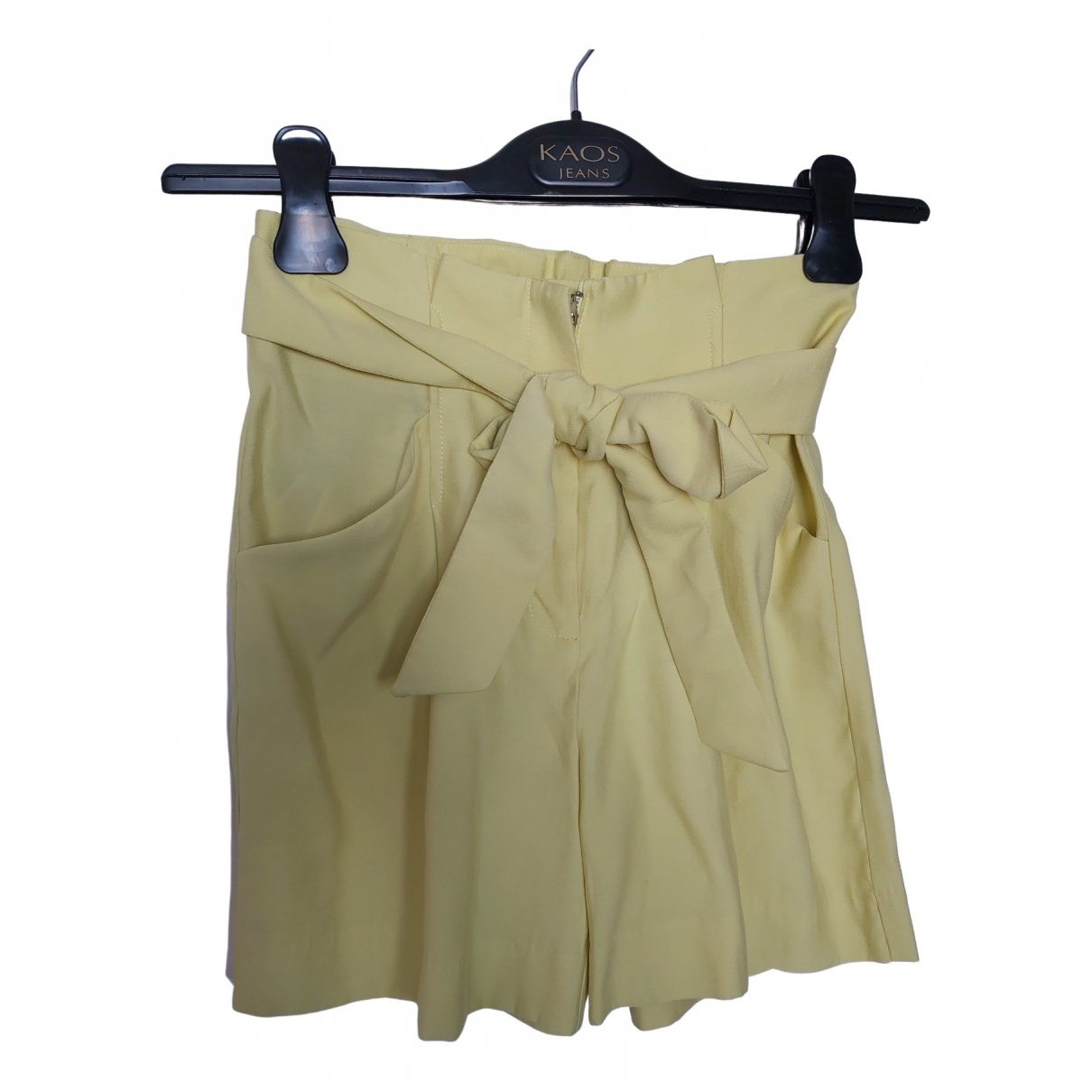 Mango \N Yellow Shorts for Women XS International