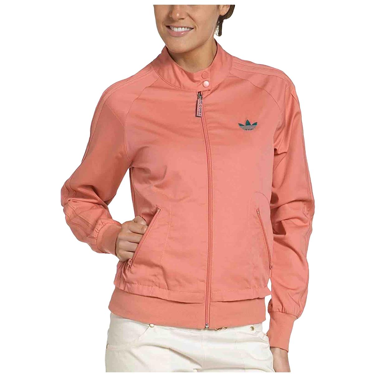 Adidas Originals X Alexander Wang \N Jacke in  Rosa Baumwolle