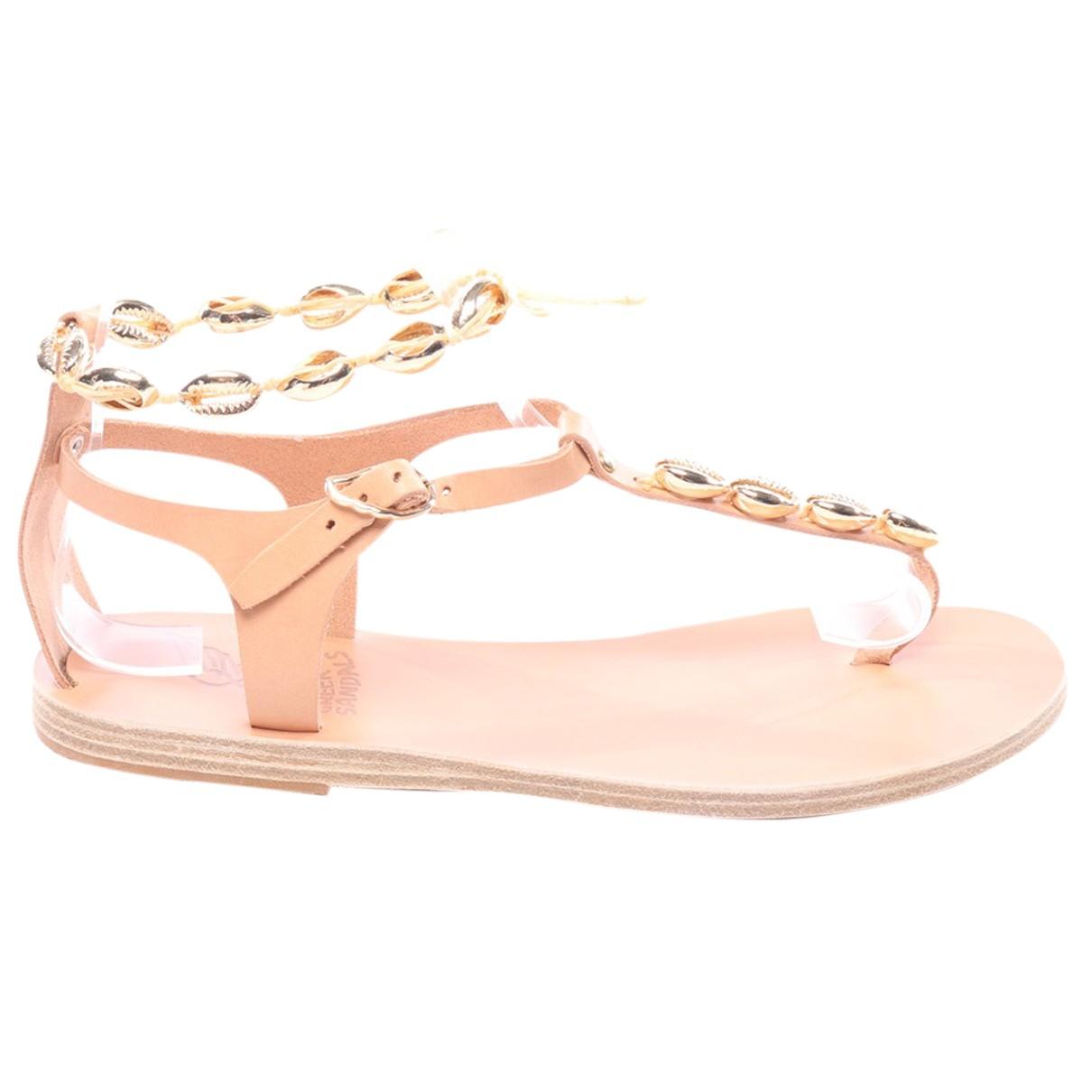 Sandalias romanas de Cuero Ancient Greek Sandals