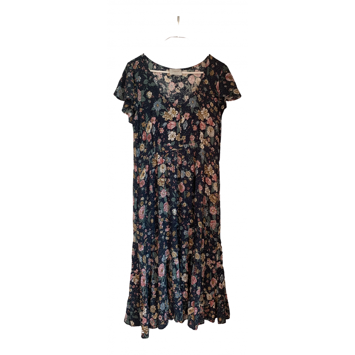 Auguste \N Kleid in  Bunt Baumwolle