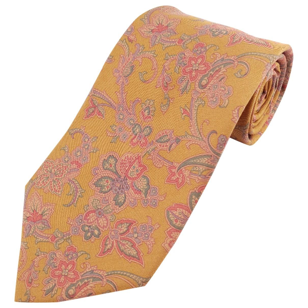 Etro - Cravates   pour homme en soie - multicolore