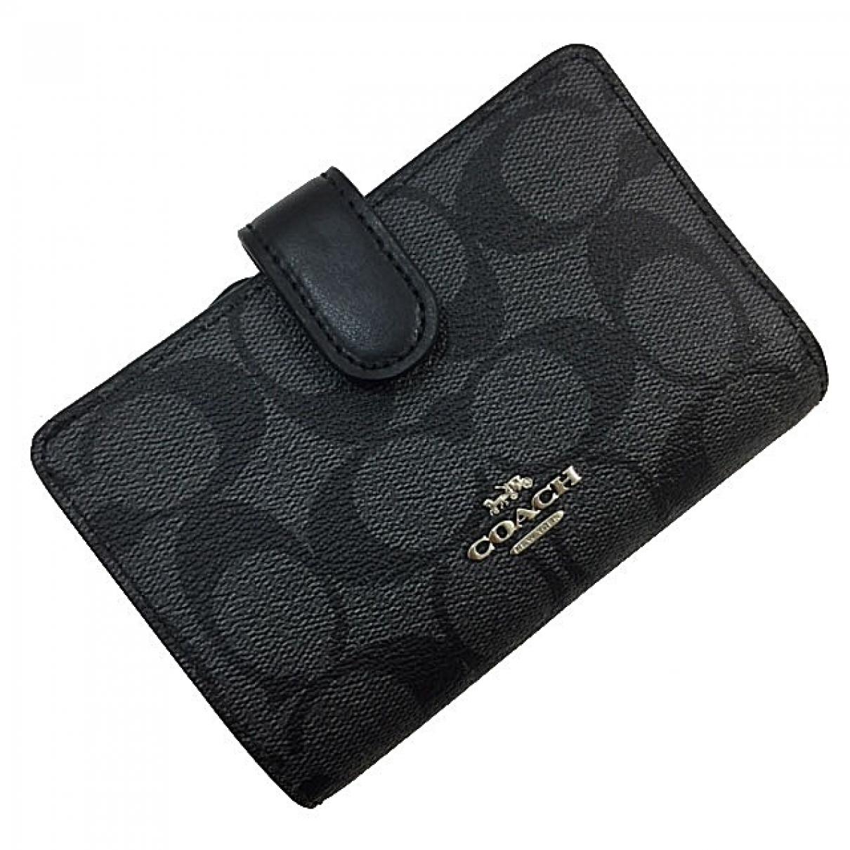 Coach \N Black Small bag, wallet & cases for Men \N