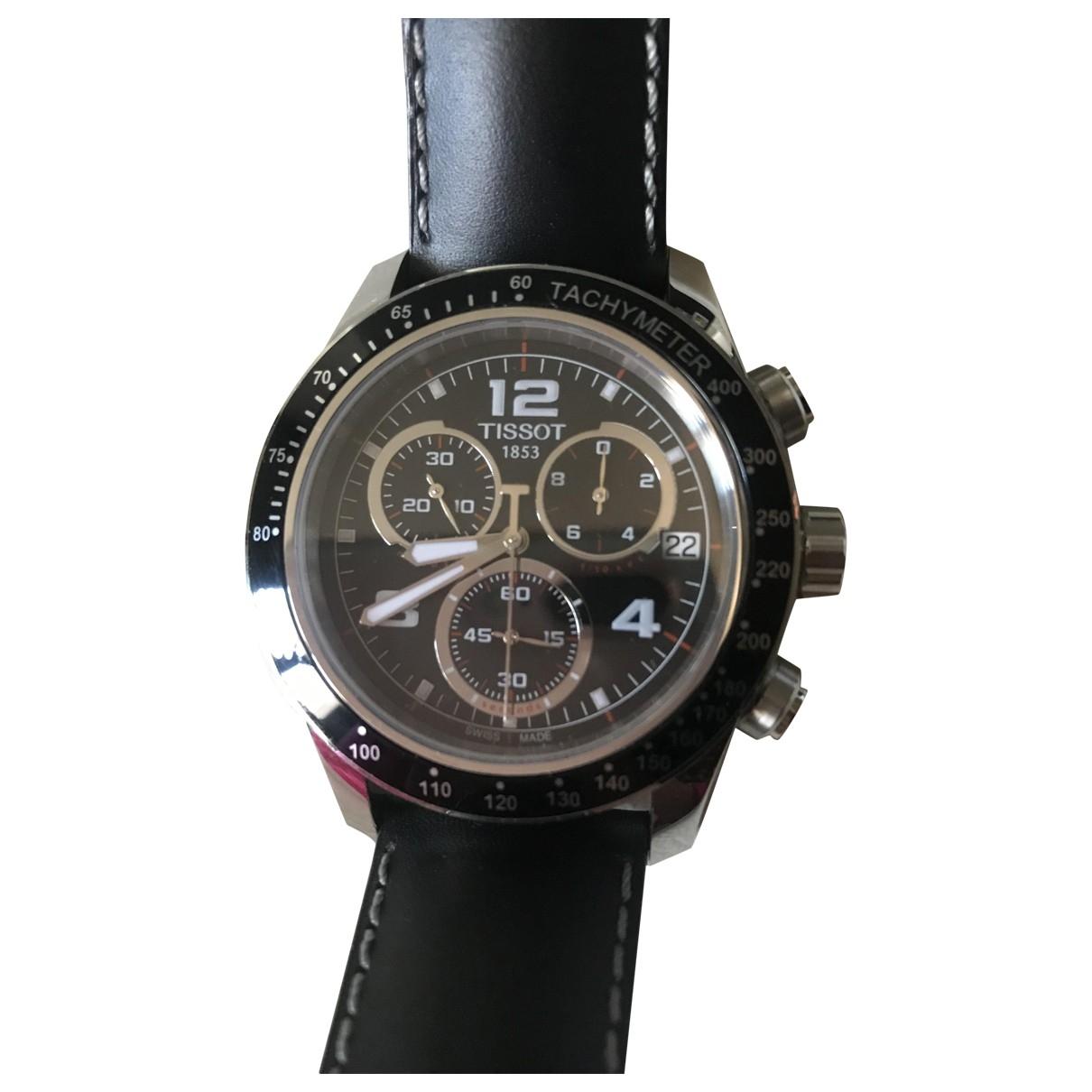 Tissot \N Uhr in  Schwarz Stahl