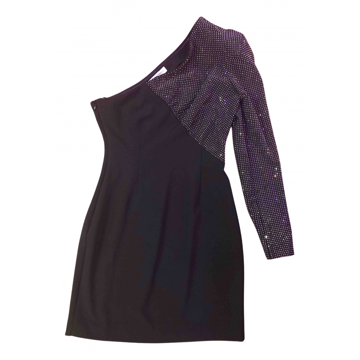 Silvian Heach \N Kleid in  Schwarz Baumwolle