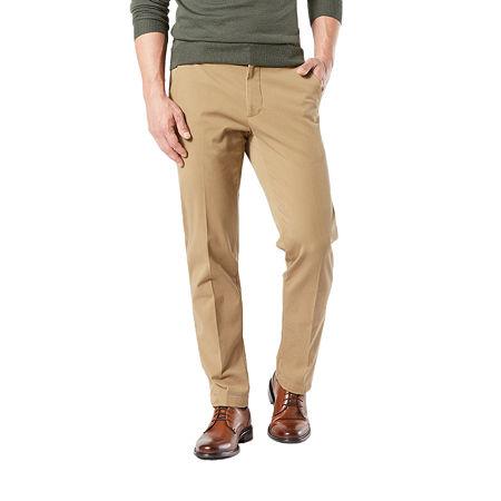 Dockers Men's Straight Fit Workday Khaki Smart 360 Flex Pants D2, 32 32, Beige