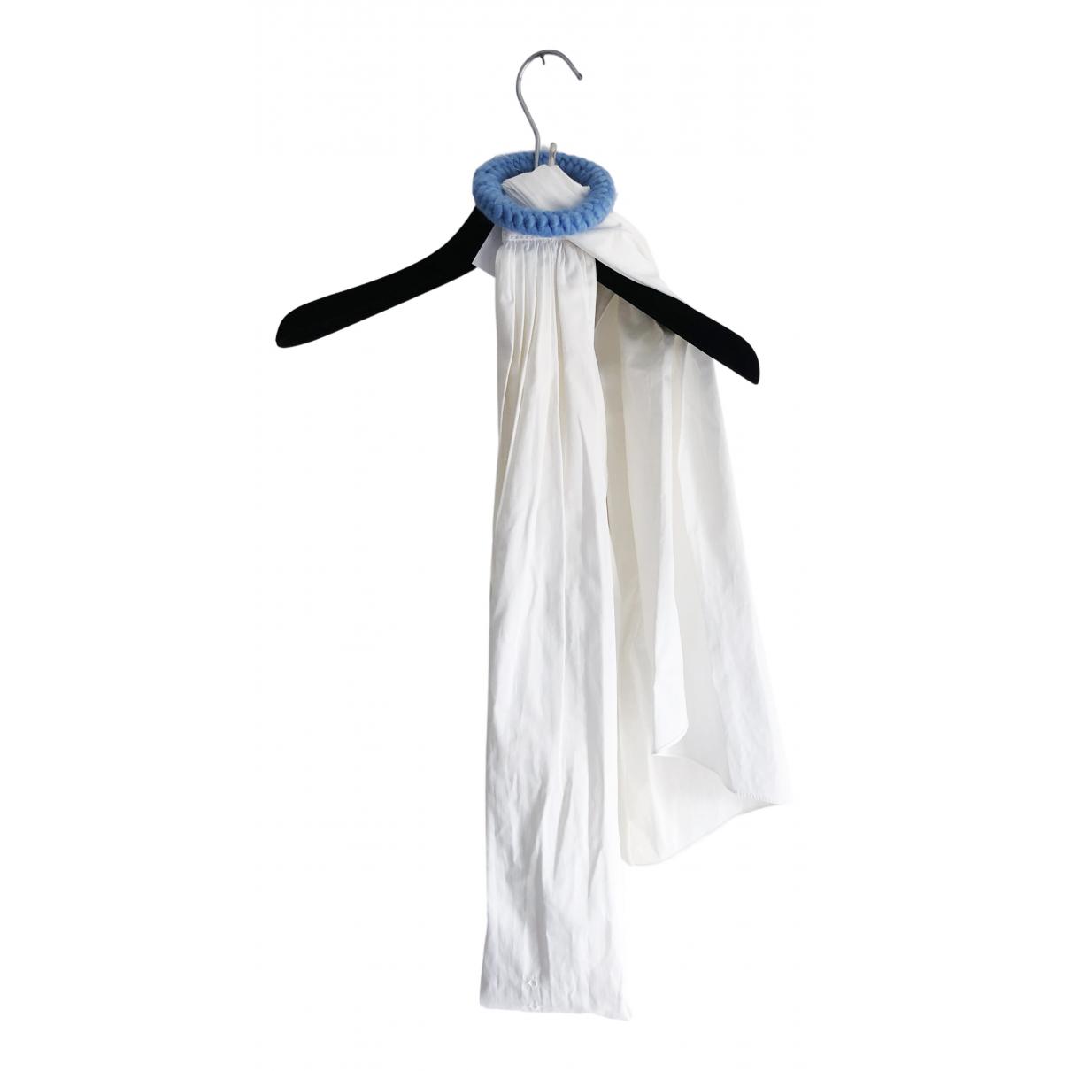 Miu Miu \N White Cotton belt for Women 70 cm