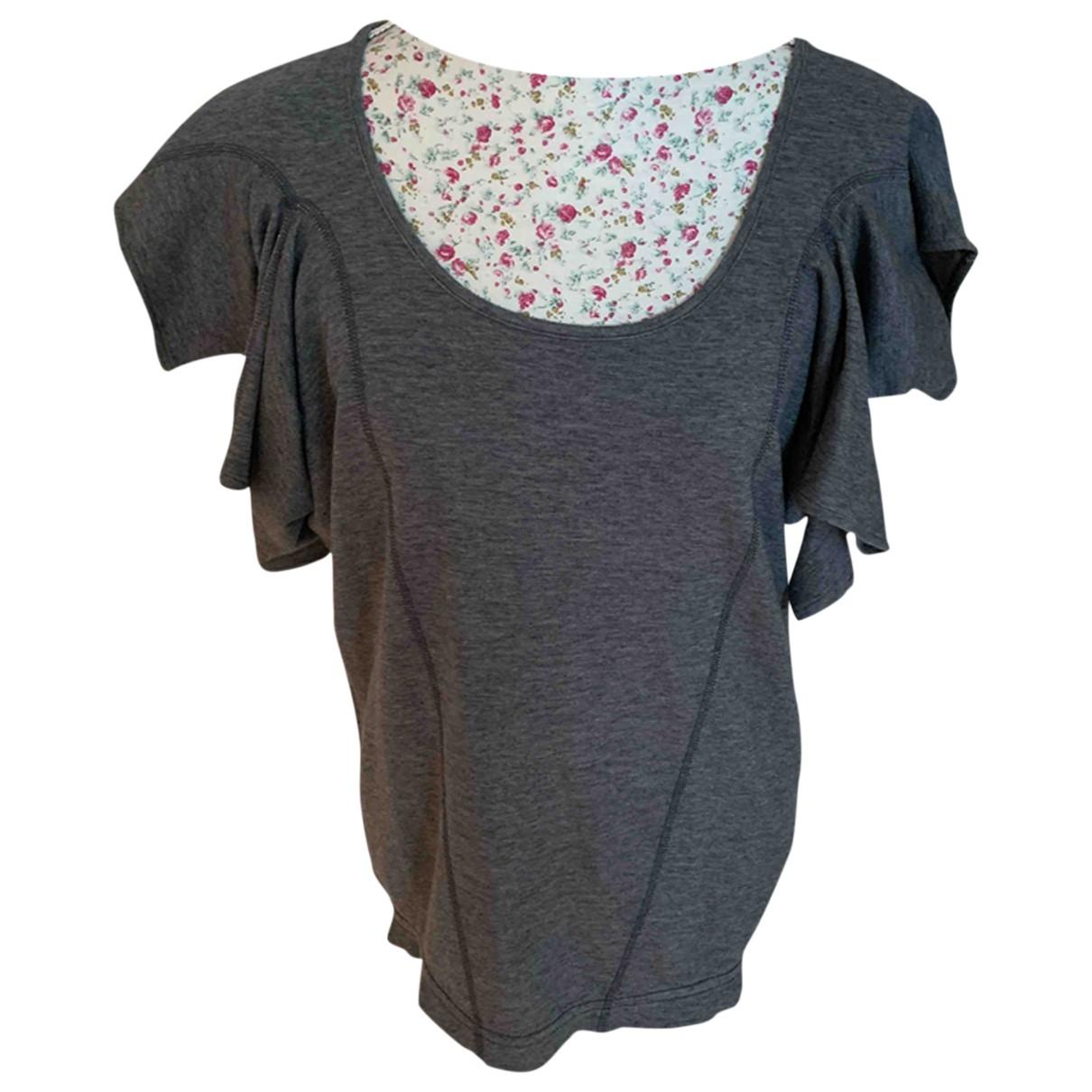 Stella Mccartney Pour Adidas \N Grey Cotton  top for Women 34 FR