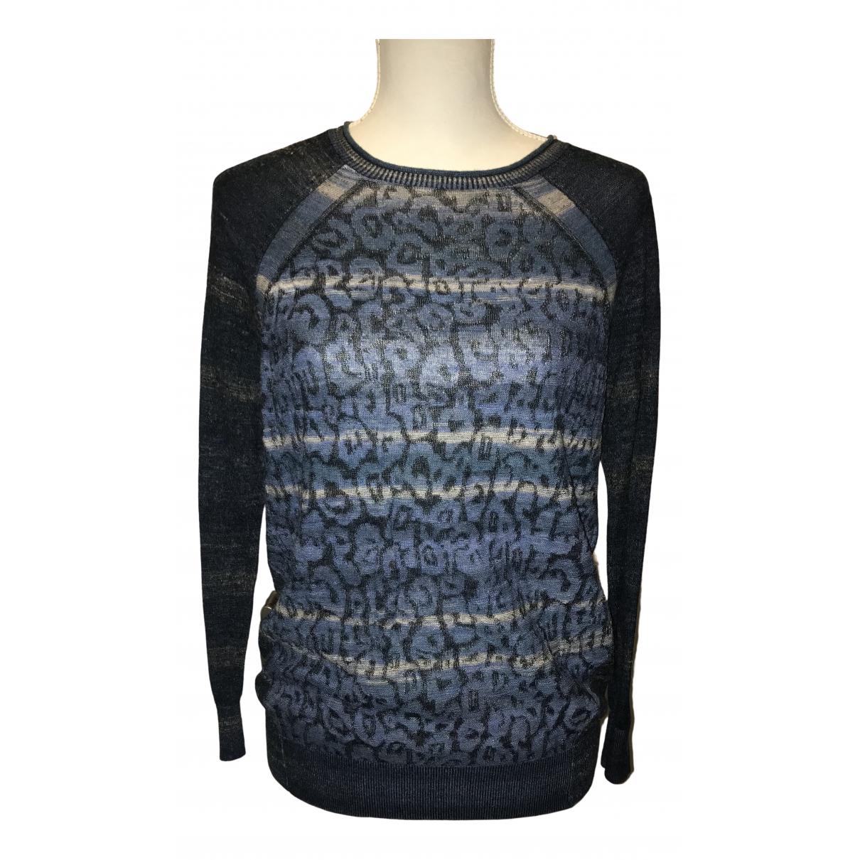 Karen Millen - Pull   pour femme en laine - multicolore