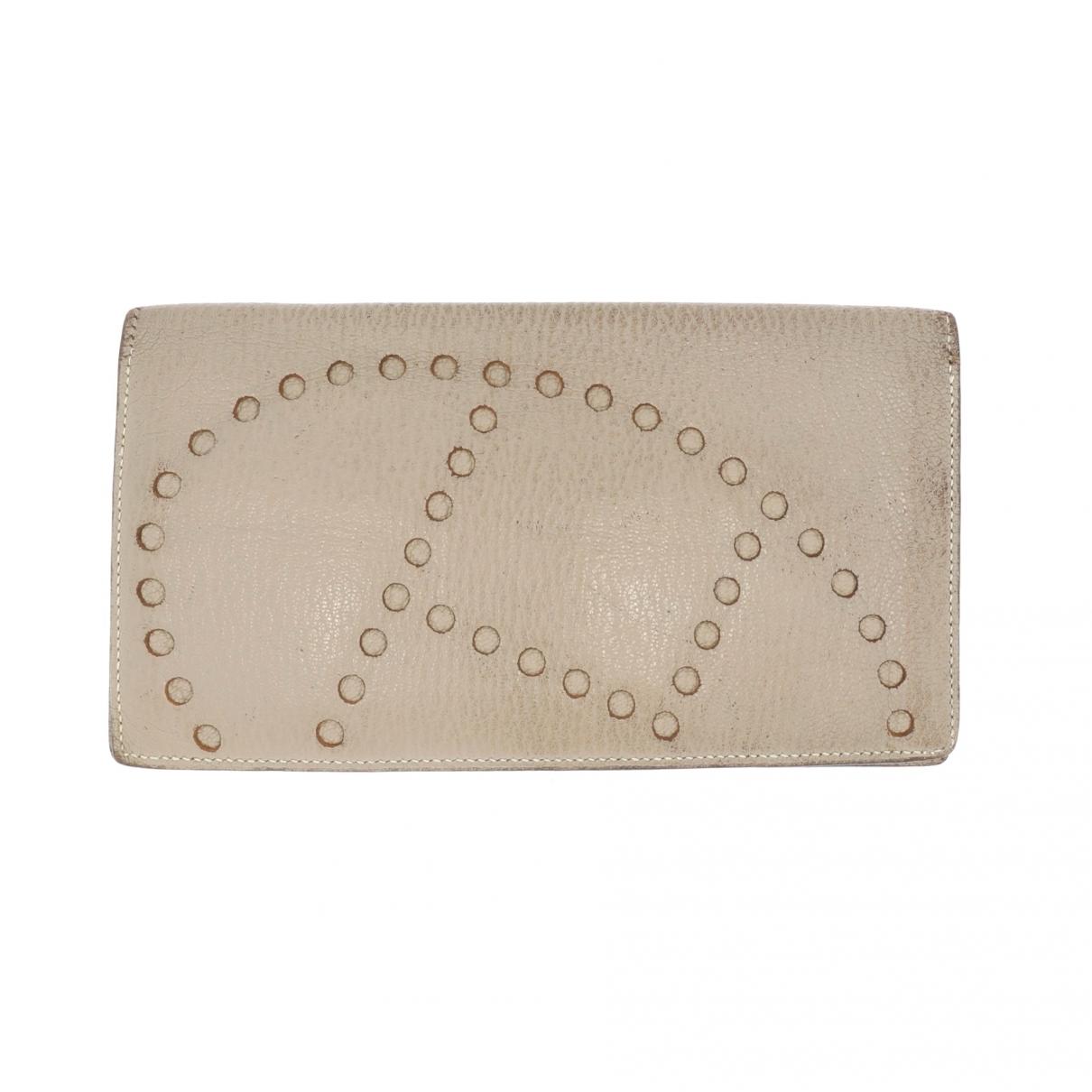 Hermès Evelyne Beige Leather wallet for Women \N