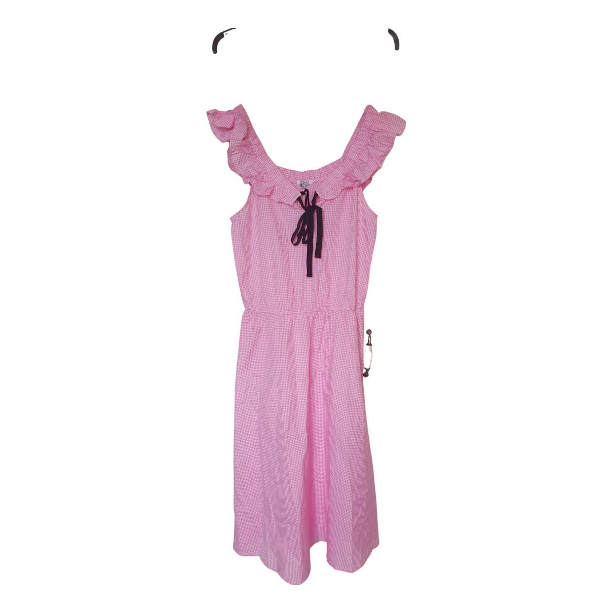 Brigitte Bardot \N Kleid in  Rosa Baumwolle