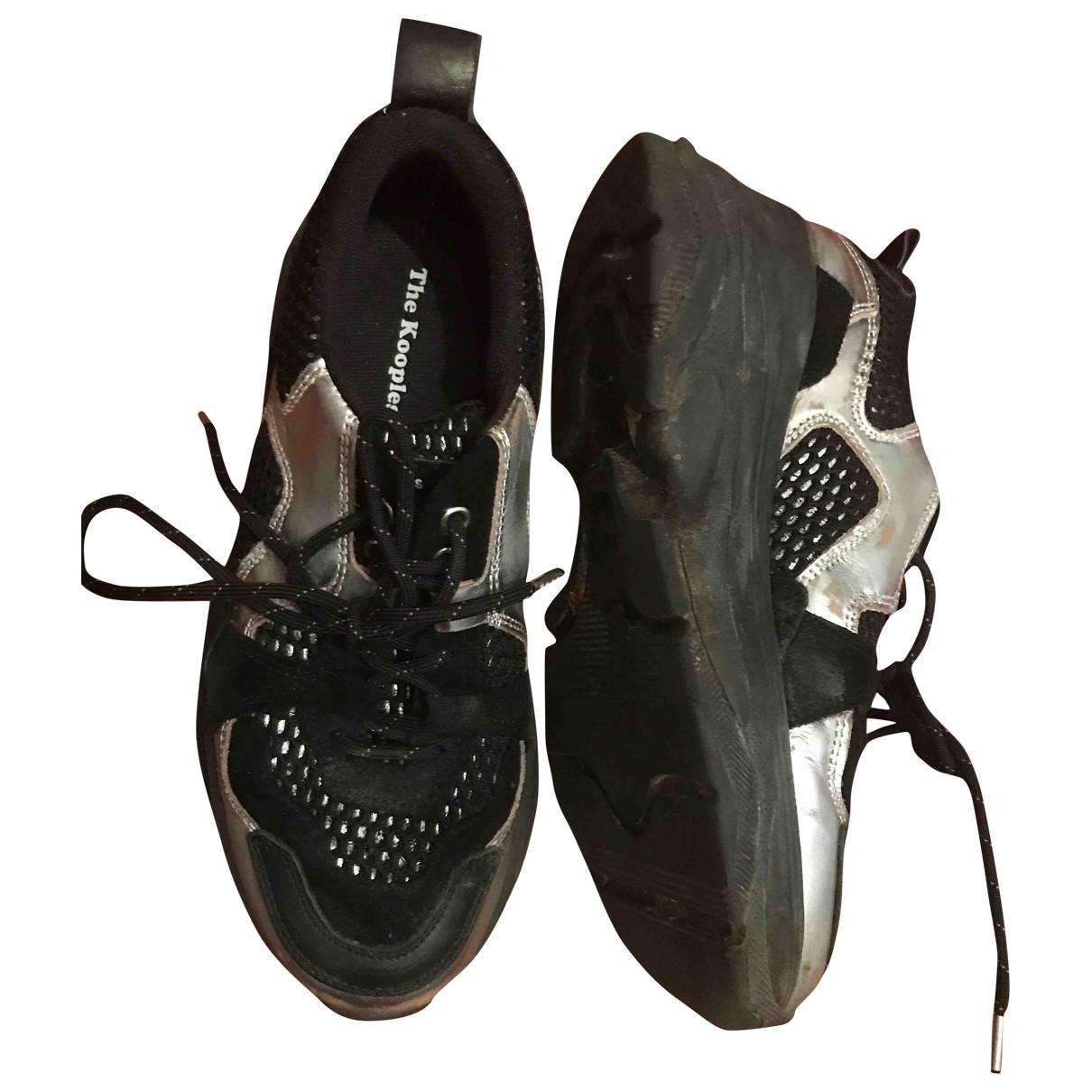 The Kooples \N Sneakers in  Schwarz Kunststoff