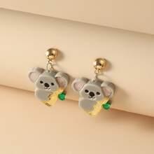 Koala Design Drop Earrings