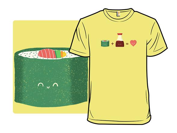Sushi Math T Shirt