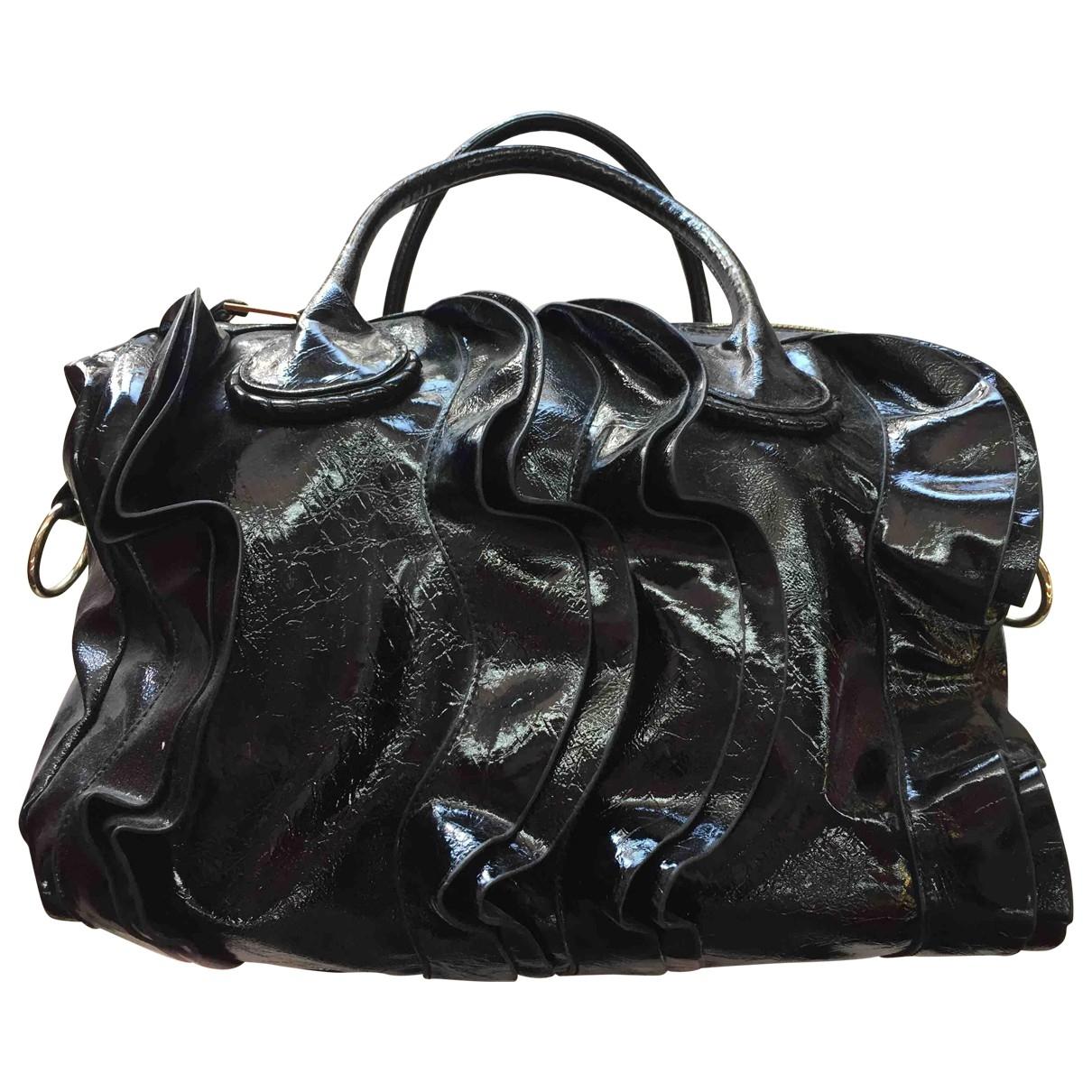 Steve Madden \N Black Patent leather handbag for Women \N