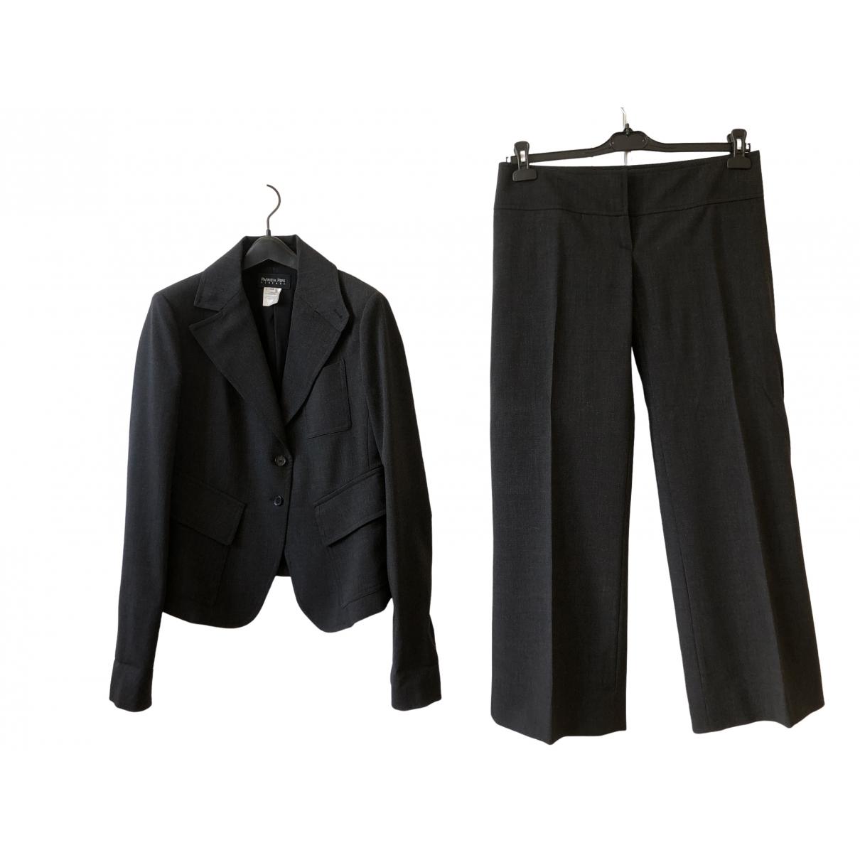 Patrizia Pepe \N Anthracite Wool jacket for Women 44 IT