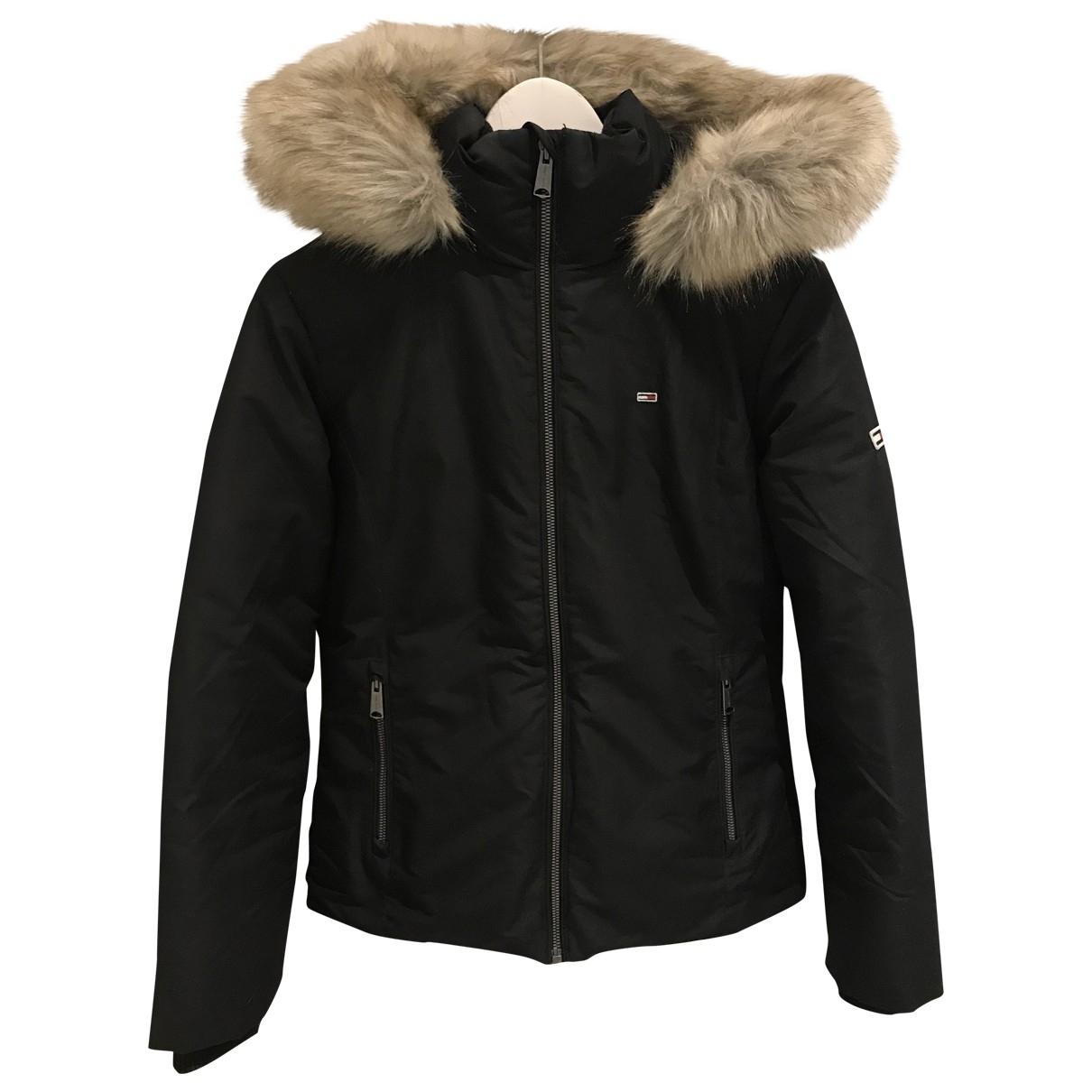Tommy Hilfiger \N Black Cotton jacket for Women S International