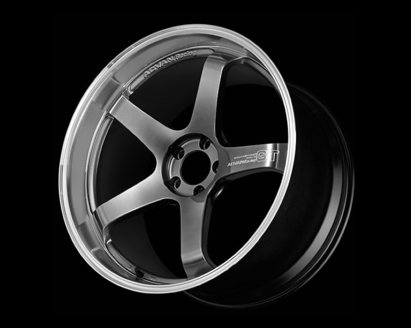 Advan GT Premium Wheel 19x8.5 5x120 47mm Machining & Racing Hyper Black