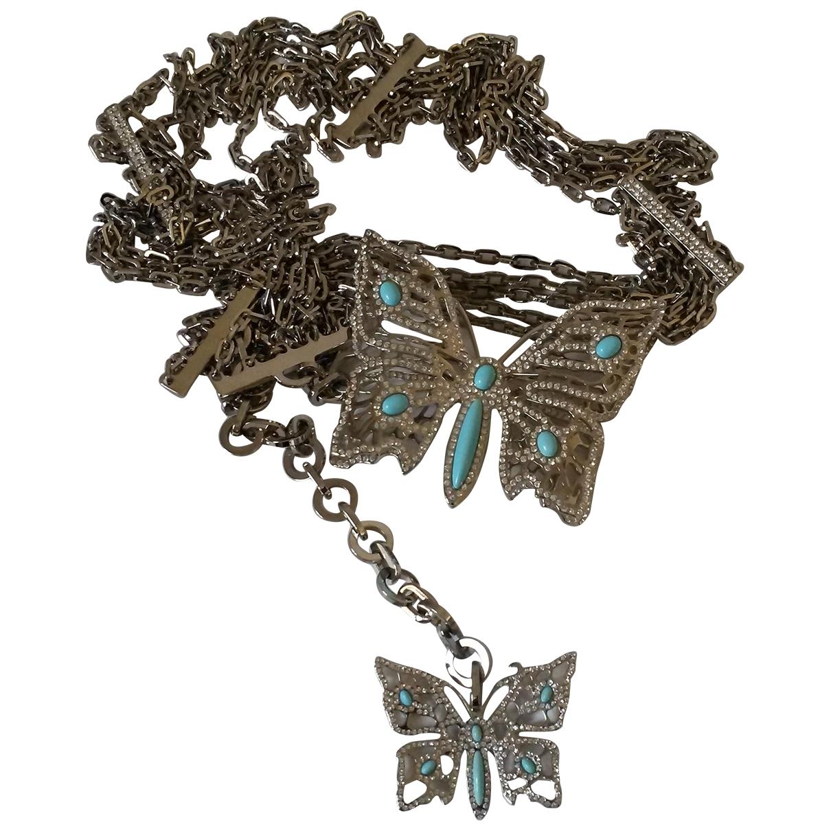 Valentino Garavani \N Silver Chain belt for Women 95 cm