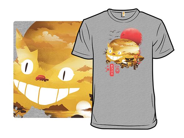 Sunset Catbus T Shirt