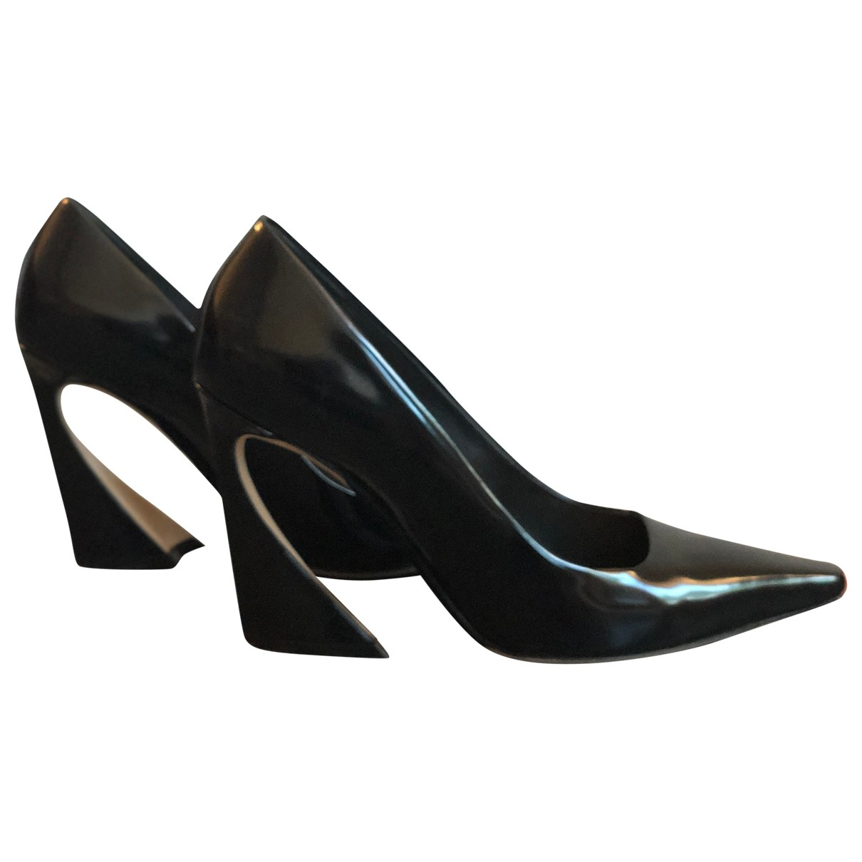 Dior \N Black Patent leather Heels for Women 40 EU
