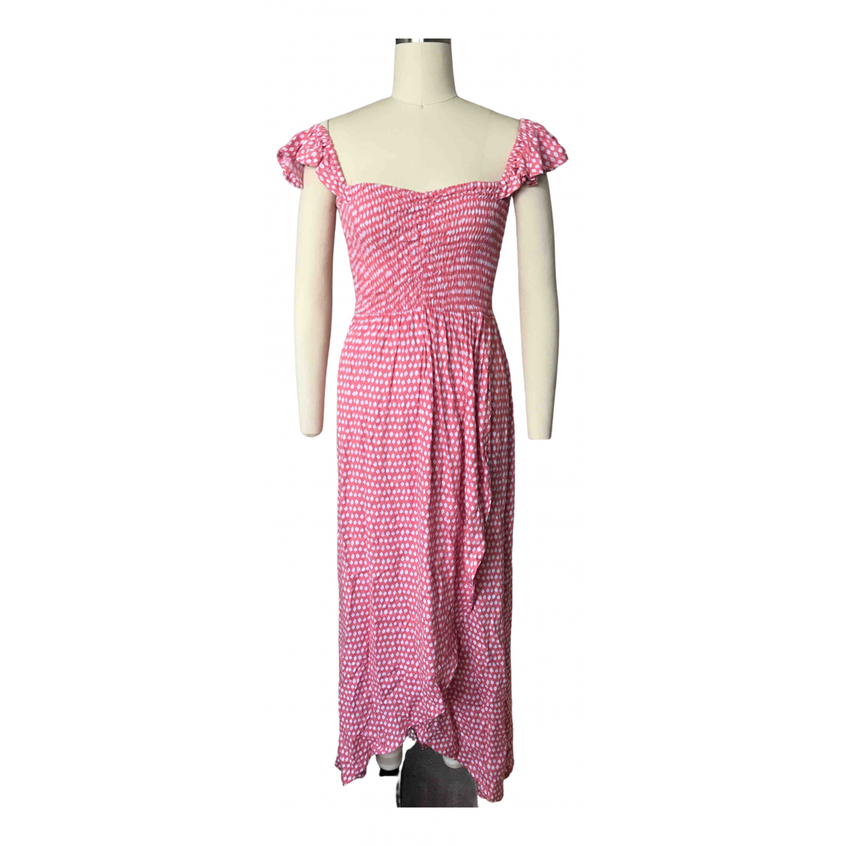 Non Signé / Unsigned N Pink dress for Women One Size International