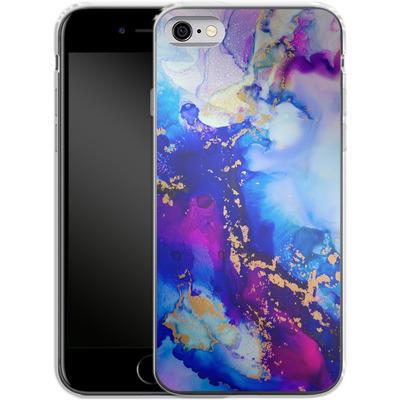 Apple iPhone 6 Silikon Handyhuelle - Cosmic Swirl IV von Stella Lightheart