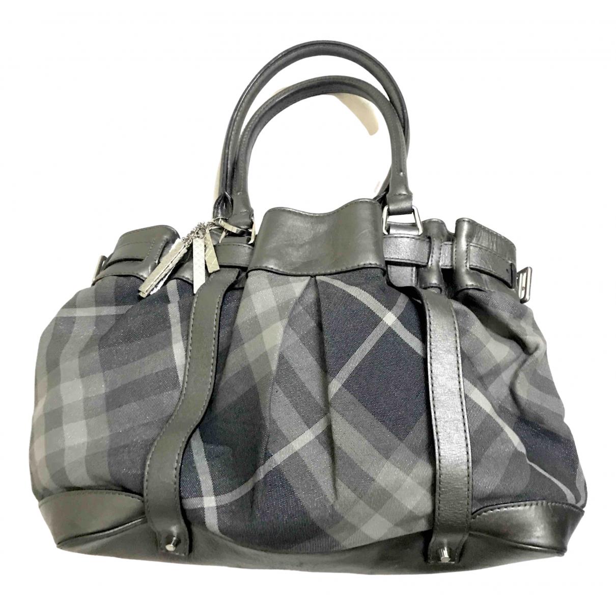 Burberry N Grey Cotton handbag for Women N