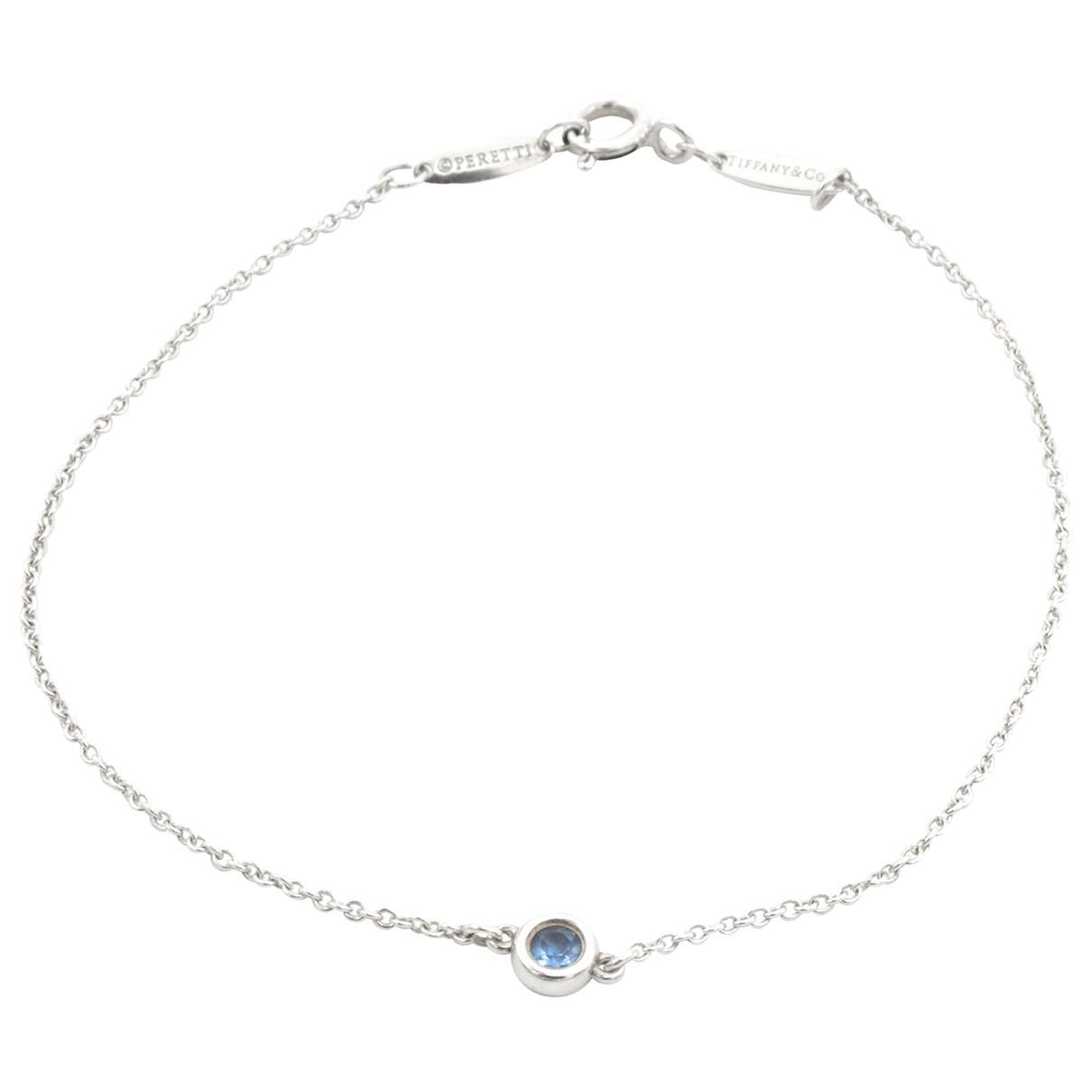 Tiffany & Co Elsa Peretti  Armband in  Silber Silber