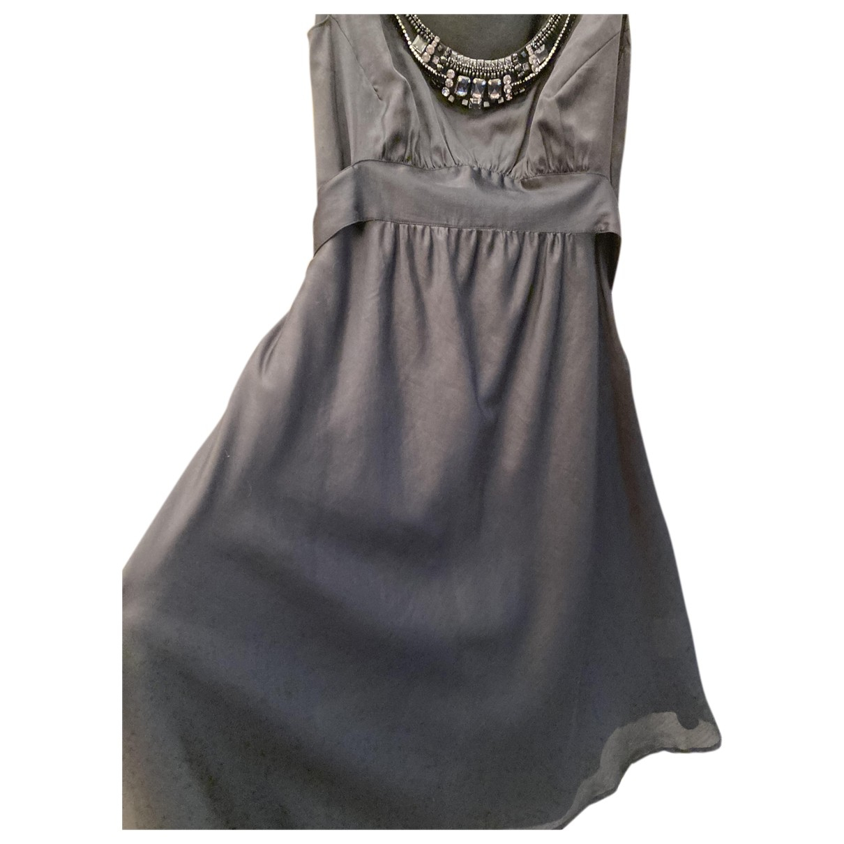 Laurel N Black Silk dress for Women 42 FR