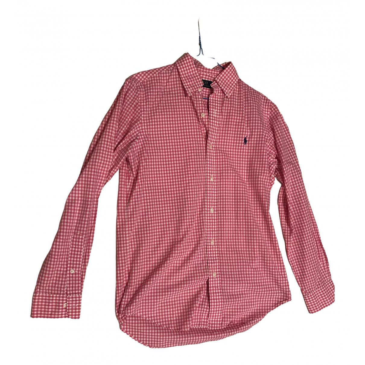 Polo Ralph Lauren - Chemises   pour homme en coton - rose