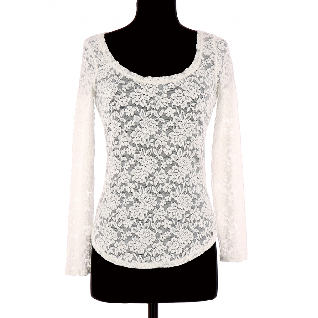 Abercrombie & Fitch - Pull   pour femme - blanc
