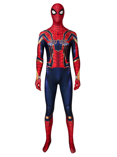 Milanoo Marvel Comics Spider Man Far From Home Iron Spider Marvel Comics Cosplay Costume