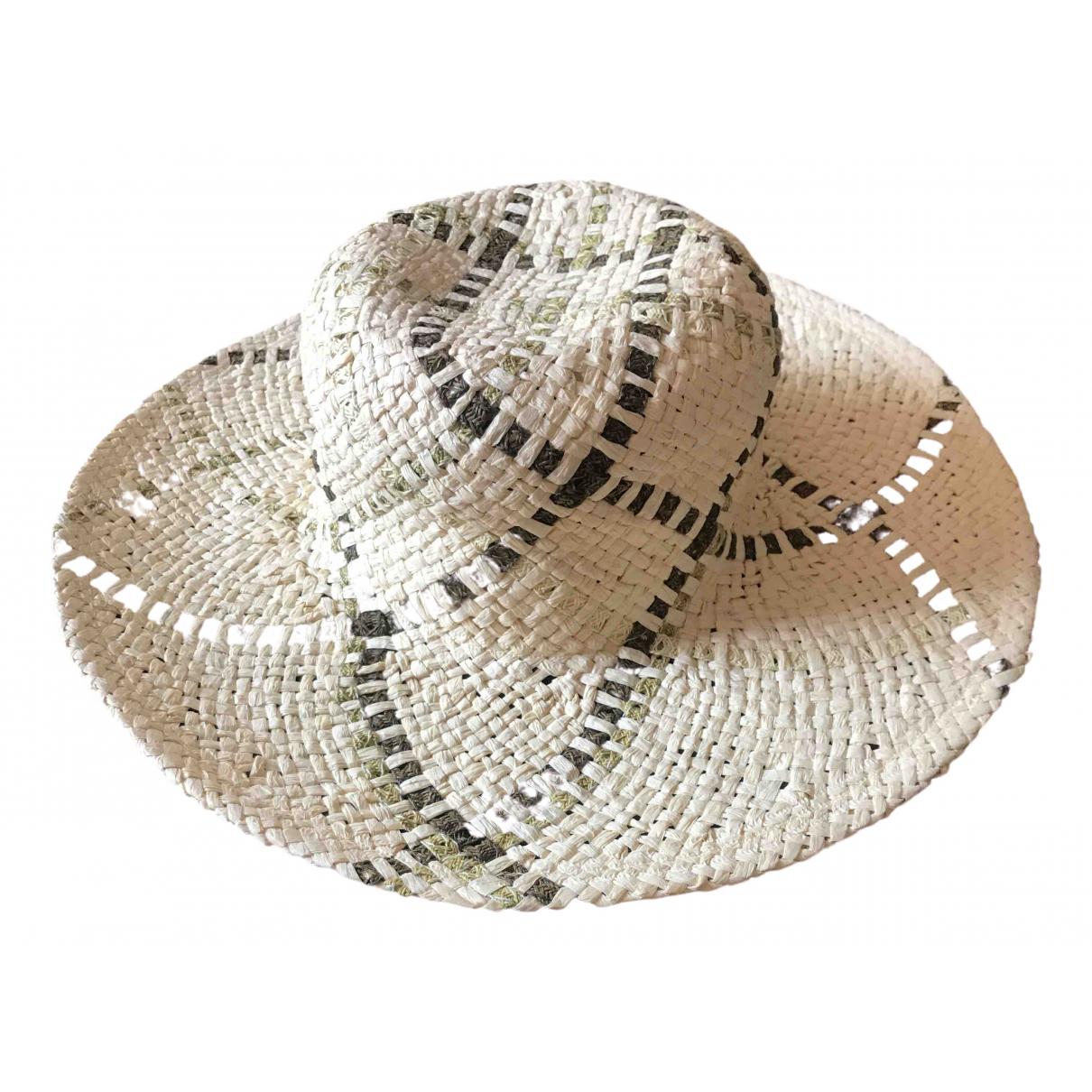 La Perla - Chapeau   pour femme en paille - beige