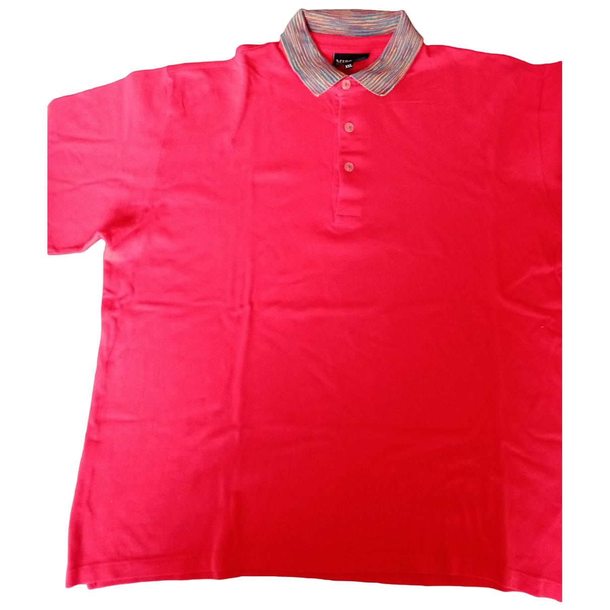 Polo en Algodon Rojo Missoni