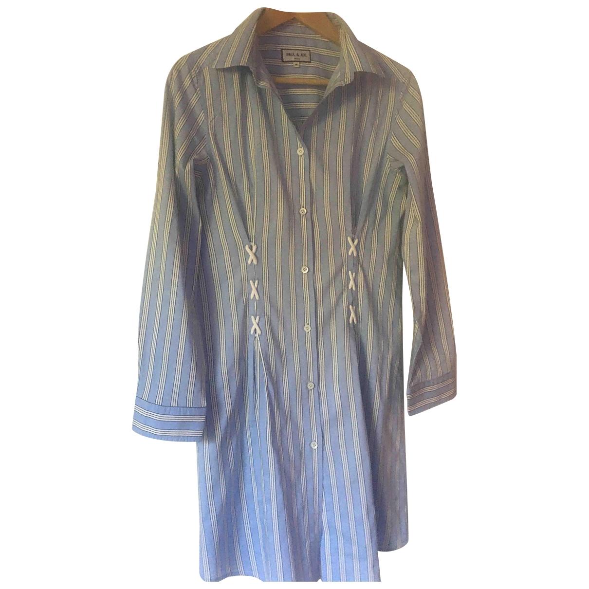 Paul & Joe - Robe   pour femme en coton - bleu