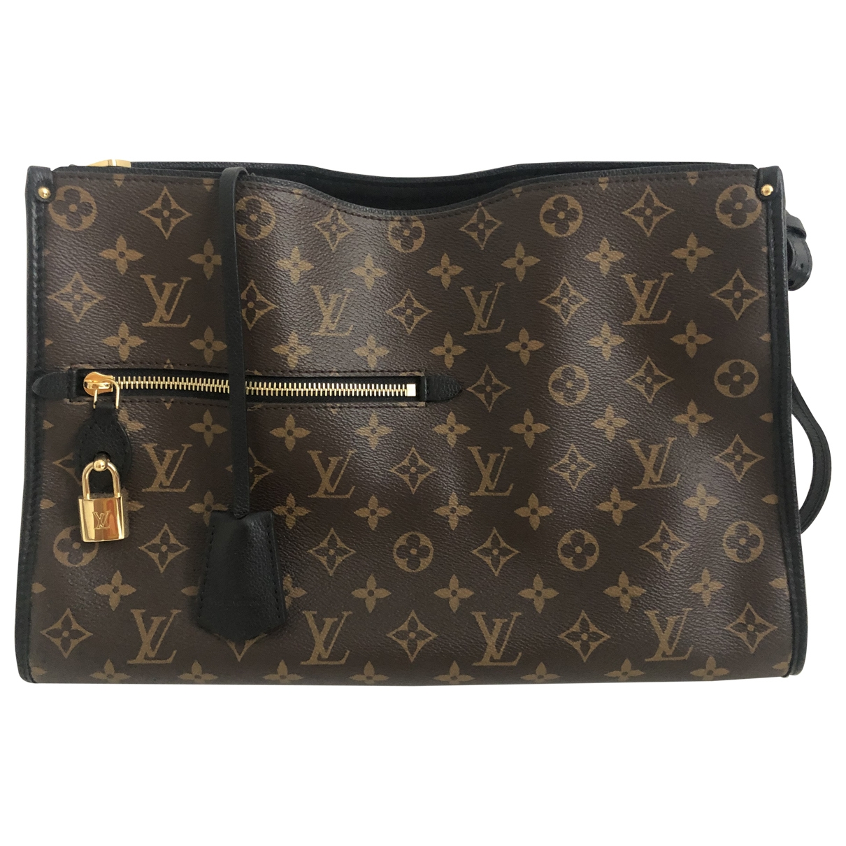 Louis Vuitton Popincourt Handtasche in Leinen