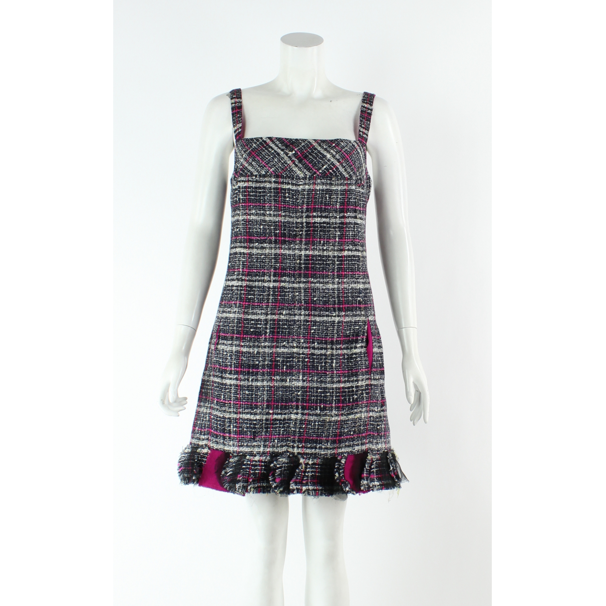 Chanel - Robe   pour femme en tweed - multicolore
