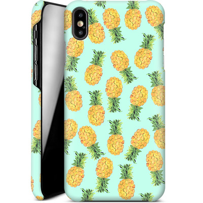 Apple iPhone XS Max Smartphone Huelle - Pineapple von Amy Sia