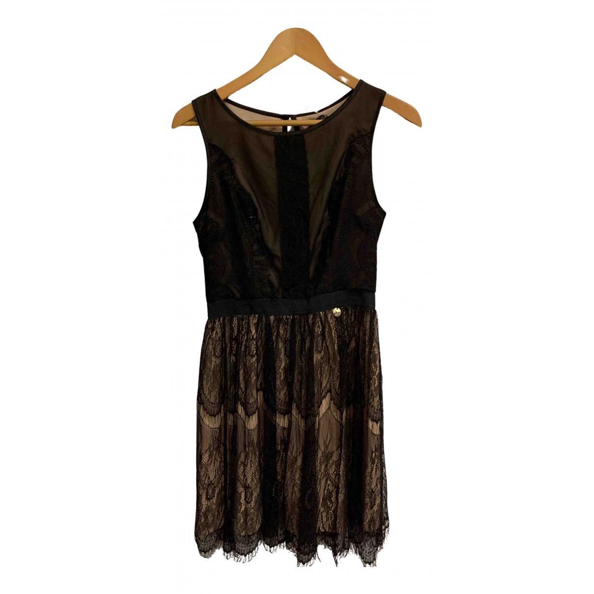 Mangano N Black dress for Women 42 IT
