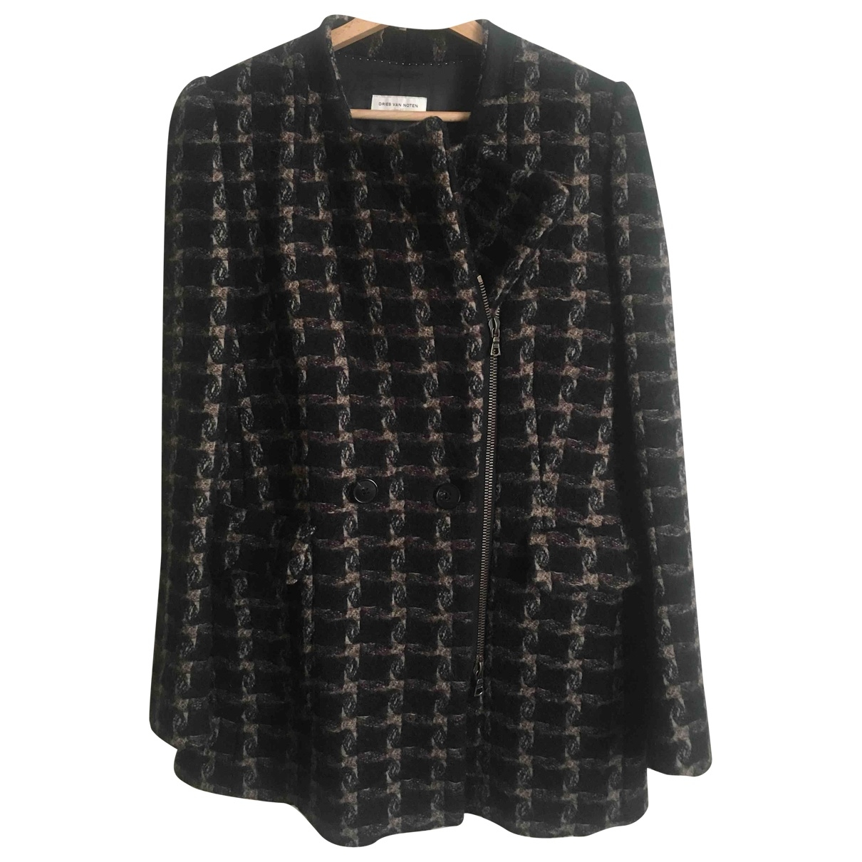 Dries Van Noten \N Black Wool jacket for Women 40 IT