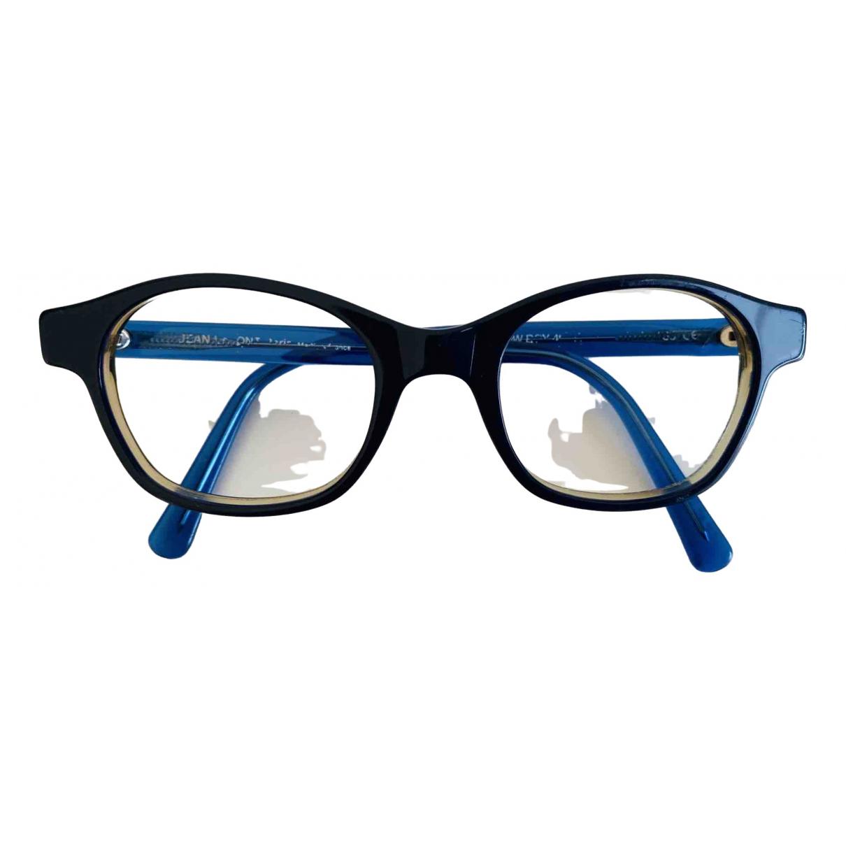 Non Signe / Unsigned \N Sonnenbrillen in  Blau Kunststoff