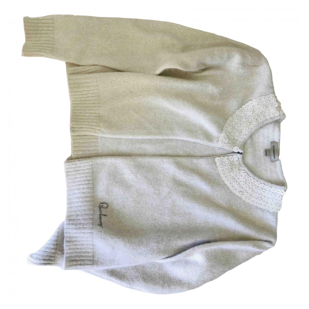 Burberry \N White Wool Knitwear for Kids 14 years - S UK