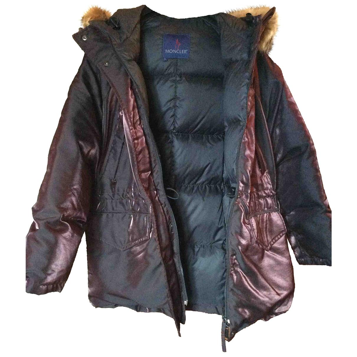 Moncler Classic Jacke in  Metallic Polyester