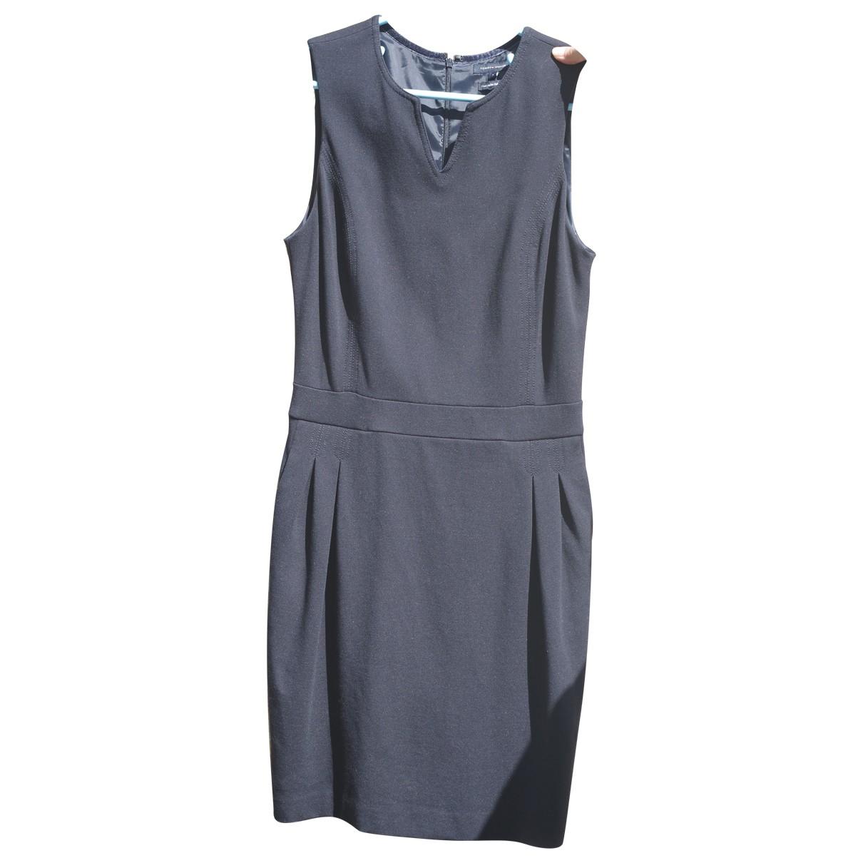 Tommy Hilfiger \N Kleid in  Marine Viskose