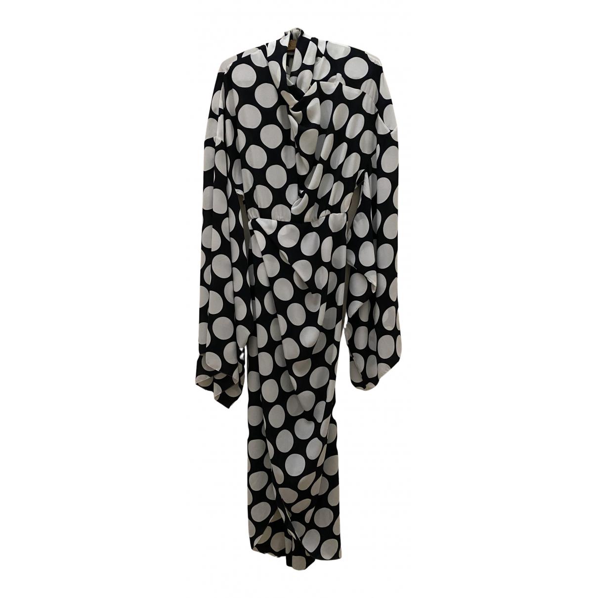 A.w.a.k.e. \N Kleid in  Schwarz Polyester