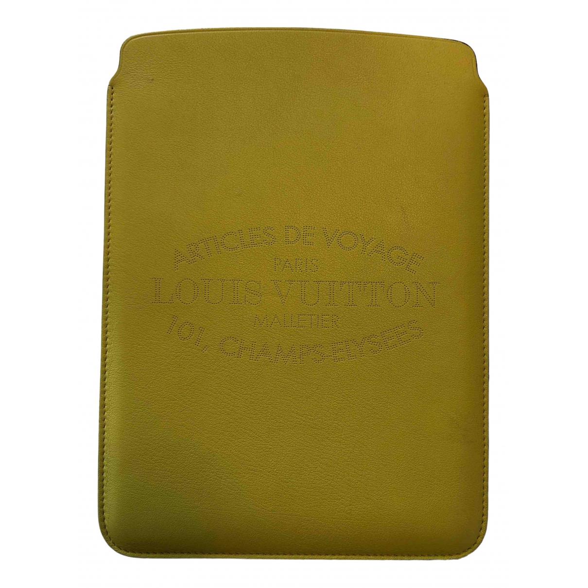 Louis Vuitton - Accessoires   pour lifestyle en cuir - jaune