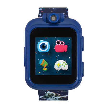 Itouch Playzoom Boys Blue Smart Watch-50021m-18-Bpt, One Size , No Color Family